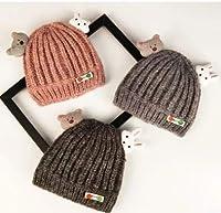 秋冬♪子供帽子★キャップ 男女通用★帽子★ニット帽子★ニットハット★赤ちゃん帽子★