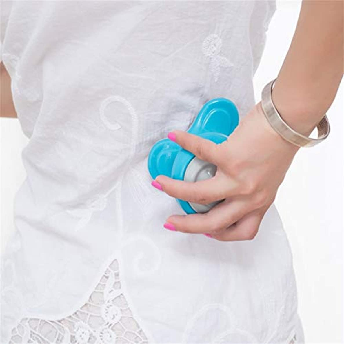 圧縮する時折晩ごはんMini Electric Handled Wave Vibrating Massager USB Battery Full Body Massage Ultra-compact Lightweight Convenient...