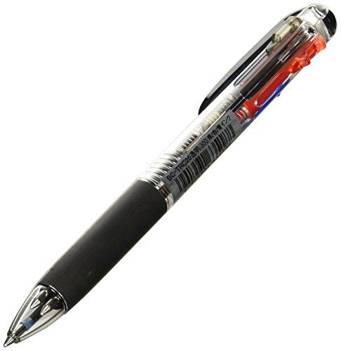 トンボ鉛筆 3色ボールペン リポーター3 透明