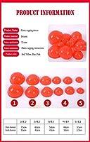 MYTDBD 痛みを軽減するためのミニシリコンカッピングセットマルチカラーの伝統的なセラピーボディマッサージカップ (Color : Red)