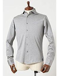 Drumohr(ドルモア) [春夏] 長袖 カットソーシャツ ライトグレー