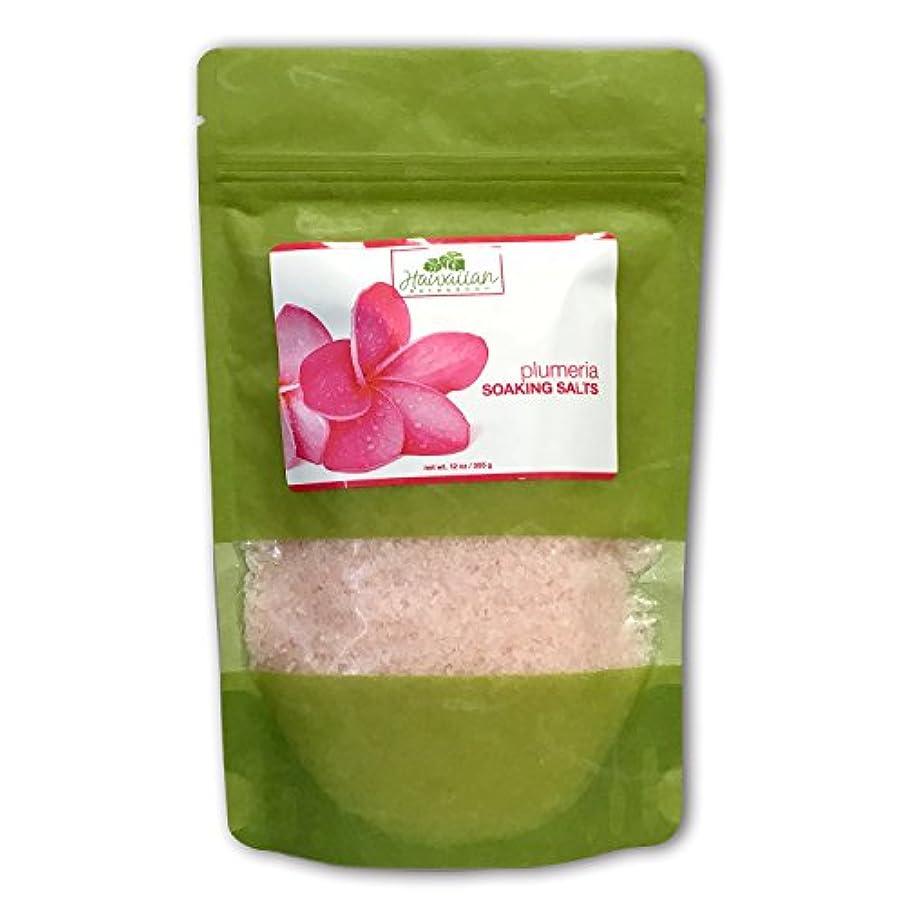 そうでなければ固めるいろいろハワイアンバス&ボディ ハワイ?プルメリアバスソルト ( Bath Salt Plumeria )