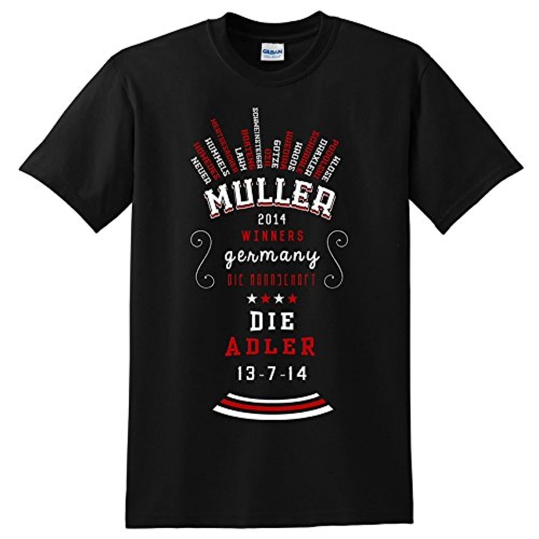 Germany World Cup Winners T-Shirt (Black)