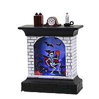 Vosarea ハロウィンは暖炉の形のランタンのヴィンテージナイトライトの装飾の好意の供給を導きました