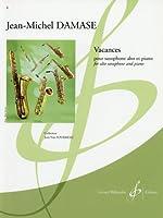 ダマーズ: バカンス/ビヨドウ社/ピアノ伴奏付サクソフォン・ソロ
