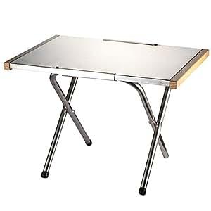 デザイアブル【Desirable】焚き火テーブル ステンレス エンボス加工 アウトドアテーブル CAPING MOON