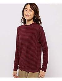 [デコイ] 吸湿発熱ボーダーハイネックTシャツ レディス491550 レディース