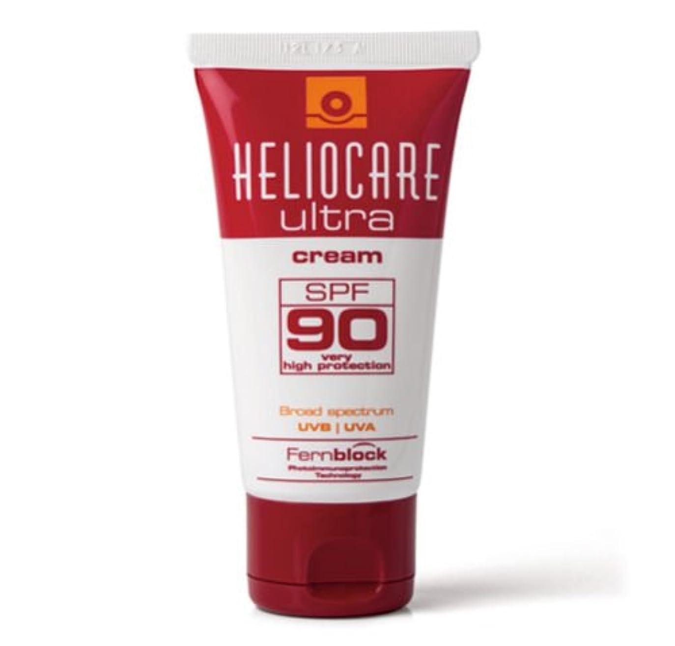 パフリーダーシップ心からヘリオケア ウルトラ 日焼け止めクリーム SPF 90 Heliocare Ultra 90 Crema [並行輸入品]
