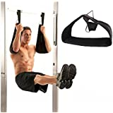 Pellor High Quality Gym Hanging Ab Straps With Quick Locks Fitness Sling Abdominal Straps