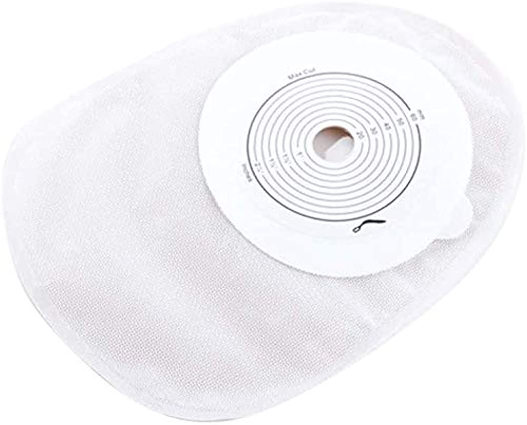 ご意見ブレースパートナー10pcs人工肛門袋、排水可能な袋のカットフィットオストミーバッグ使い捨てスキンバリア人工肛門形成術のための閉鎖人工肛門バッグストーマケア