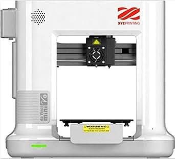 XYZプリンティング 3Dプリンター ヴィンチmini W+ ホワイト 3Dプリンターの入門に最適な製品です。 WiFiに接続可能な場所であれば家のどこからでも家庭用品や子供のおもちゃを印刷することができます。(造形サイズ15×15×15cm)