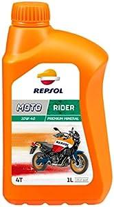REPSOL(レプソル) MOTO RIDER 4T 10W40 MA2 1L バイク用鉱物オイル007166