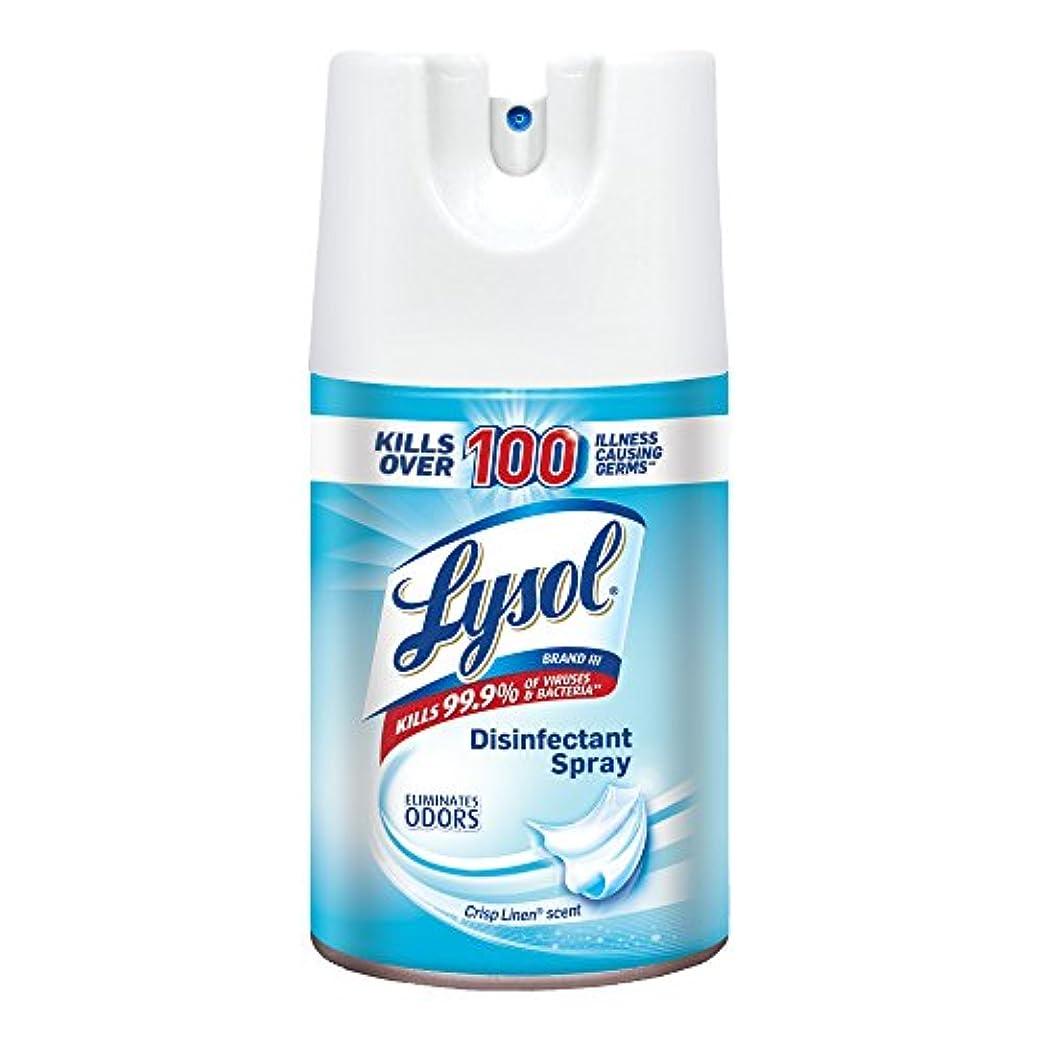 呼び出すしおれたモーションLysol Spray Lysol消毒スプレー、クリスプリネン、84Oz(12X7Oz)