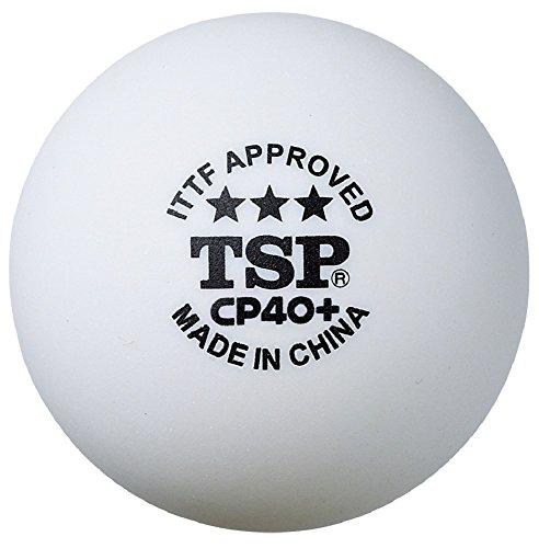 ティーエスピー(TSP) 卓球 ボール CP40+ 3スターボール 3個入り 014049