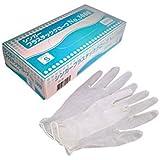 使い捨て手袋 宇都宮プラスチックグローブNo.3000 粉付※白S 100枚X20箱 2000枚