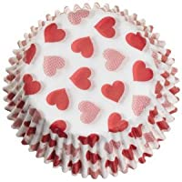 Wilton Heart Mini Bake Cup, 75 Ct.