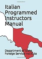 Italian Programmed Instructors Manual (Language)