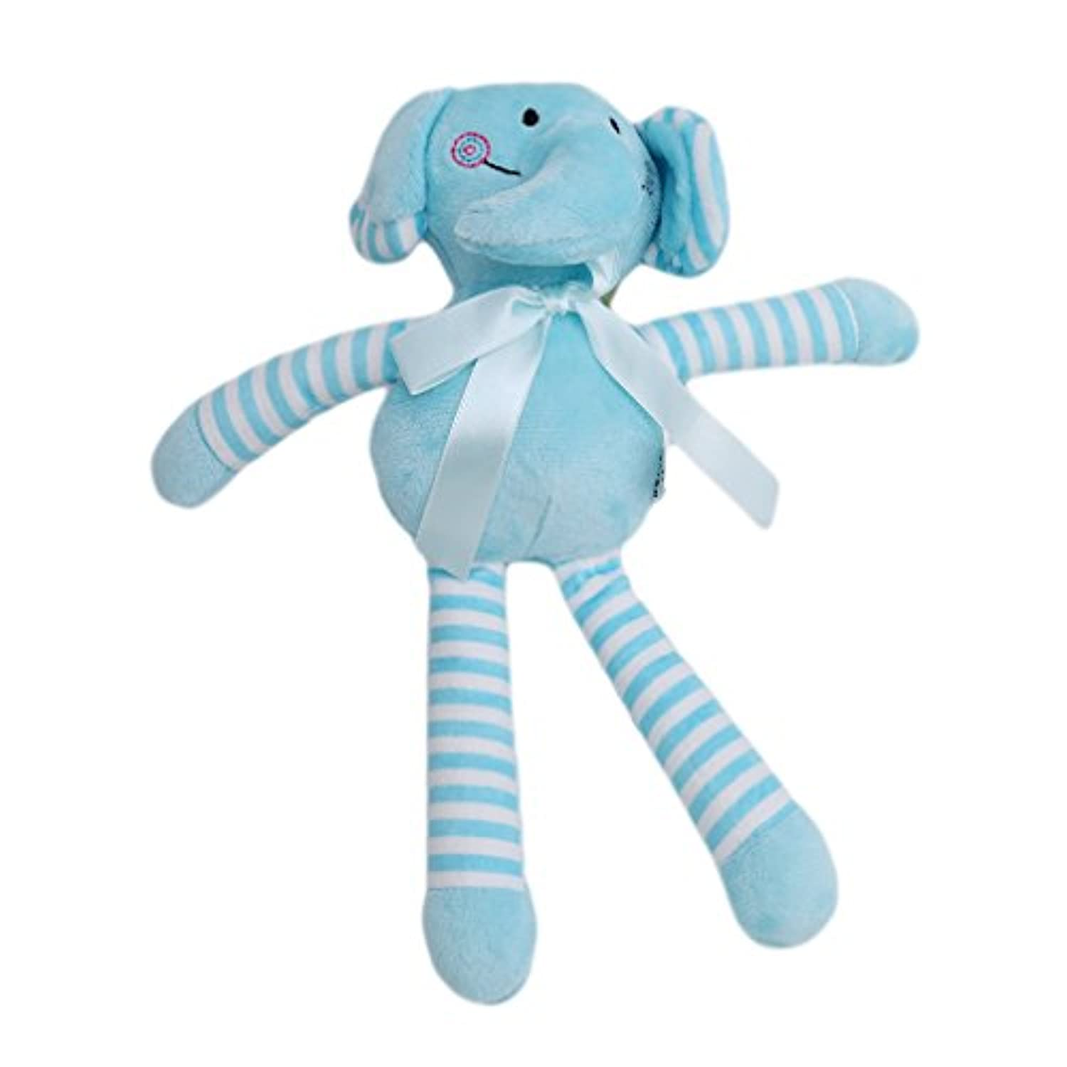 Guangqi Baby Plush Toy、ベビーSoothed Animal Dolls for Baby Sleep 10.24*3.54in 25
