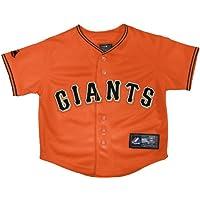 MLB San Francisco Giants代替レプリカジャージー、オレンジ、ミディアム