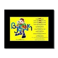 BJORK - Volta UK Tour 2008 Mini Poster - 21x13.5cm