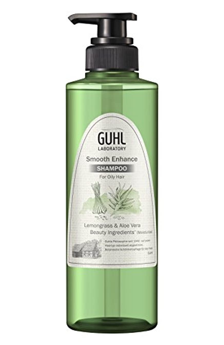 パッド恥ずかしさこどもの日グール ラボラトリー シャンプー (ベタつきがちな髪に) 植物美容 ヘアケア [ノンシリコン 処方] スムースエンハンス 430ml