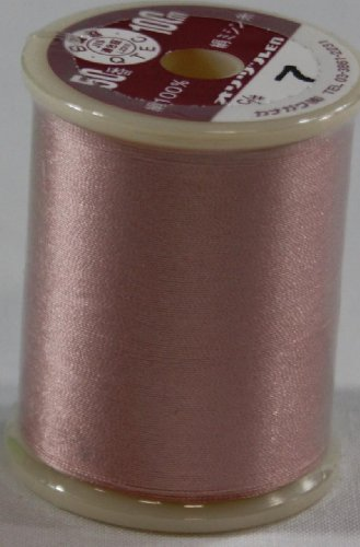 オリヅル絹ミシン糸  50番 100m  7