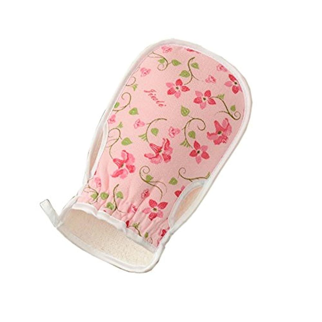 韓国ネズミ結核スタイリッシュな入浴用品バストミットタオルボディウォッシュエクスフォリエイティンググローブ、#02