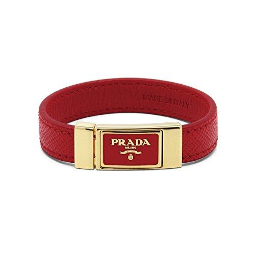 (プラダ) PRADA ブレスレット ROSSO レッド S 1IB112 053 F0011 [並行輸入品]
