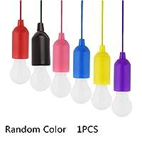 主導のプルライトカラー調キャンプライトクリスマスの飾り雰囲気ランププルロープ誘導灯は電球を引き出します【Makeapop】