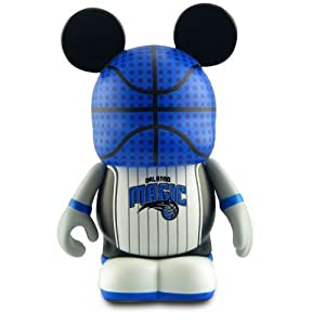 おもちゃ Orlando Magic - Disney ディズニー Vinylmation ヴァイナルメーション ~3 NBA Series Designer Figure
