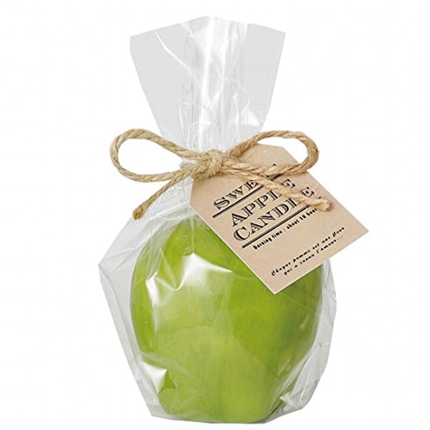 上院医療過誤薬を飲むkameyama candle(カメヤマキャンドル) スイートアップルキャンドル 「 グリーン 」(A4630520G)