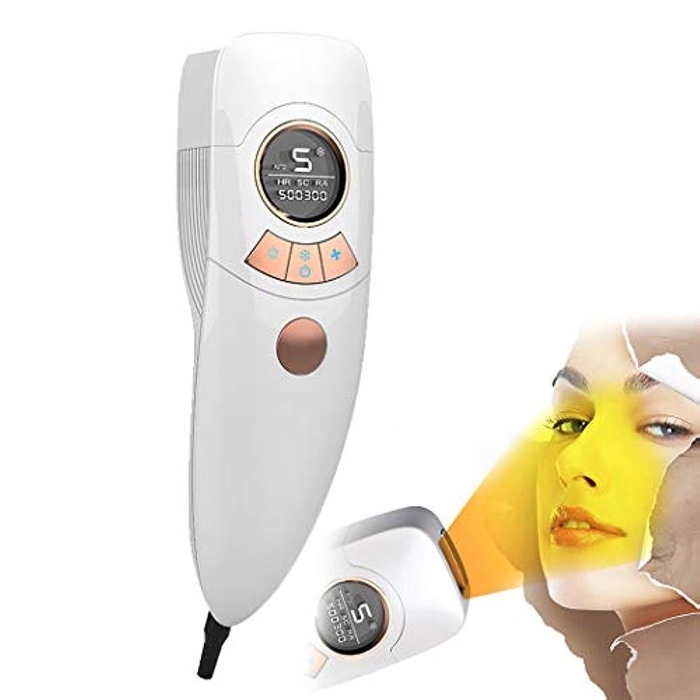 効能水ファーザーファージュ電気脱毛装置は痛みがありません女性4で1充電式電気脱毛器の髪、ビキニエリア鼻脇の下腕の脚の痛みのない永久的な体毛リムーバー-White