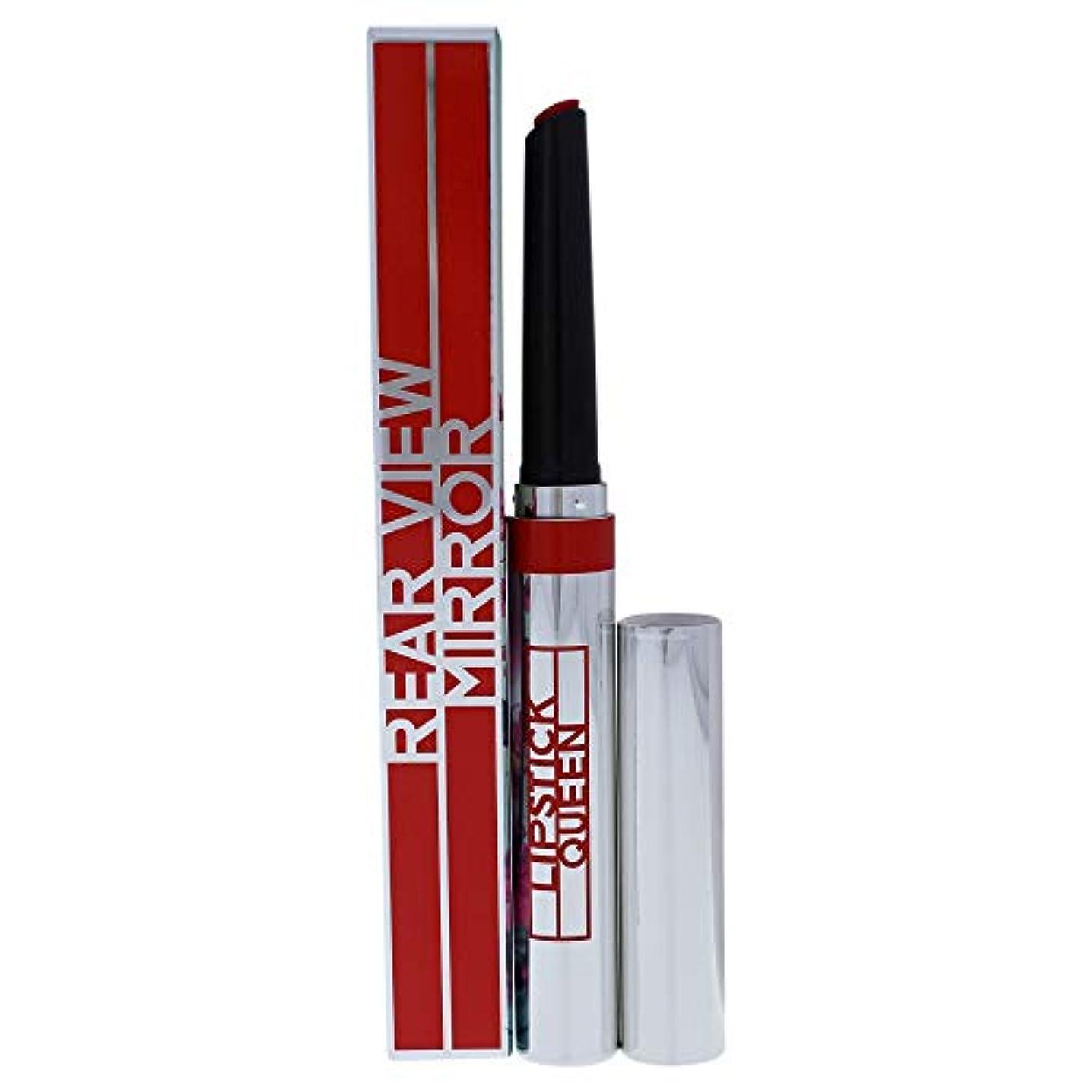 賠償鎮痛剤指定するリップスティック クィーン Rear View Mirror Lip Lacquer - # Fast Car Coral (A Vibrant Ruby Red) 1.3g/0.04oz並行輸入品