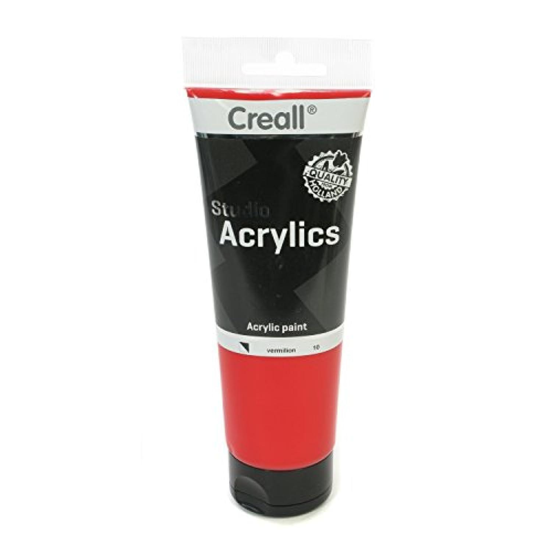 American Educational Products A-33610 Creall-Studio-Acrylics Tube 250Ml 10 Vermillion