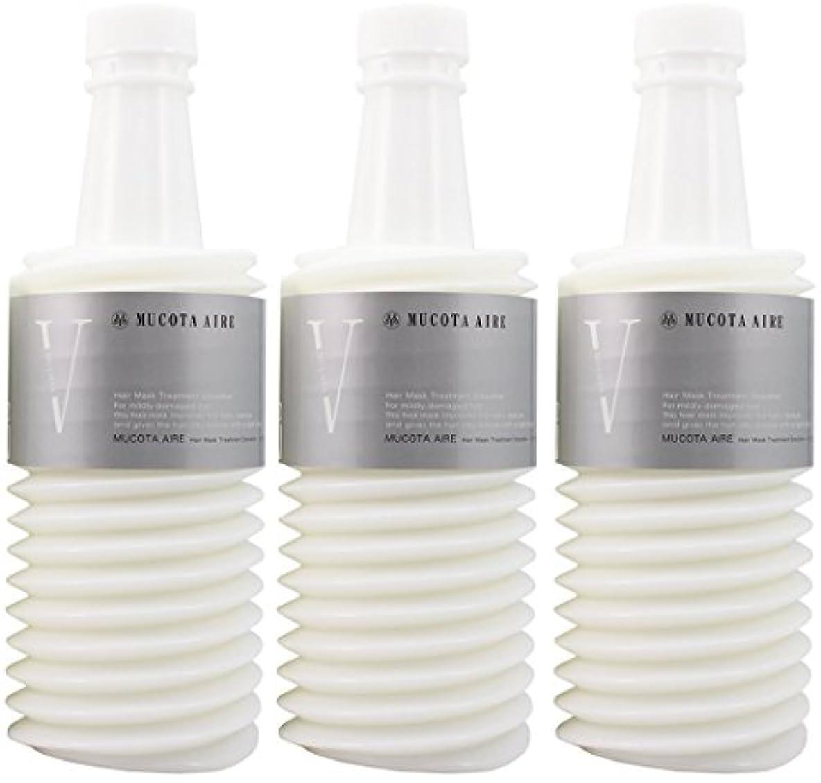 オンス酸化するあいまいな【X3個セット】 ムコタ アデューラ アイレ05 ヘアマスクトリートメント スムーサー 700g (レフィル)