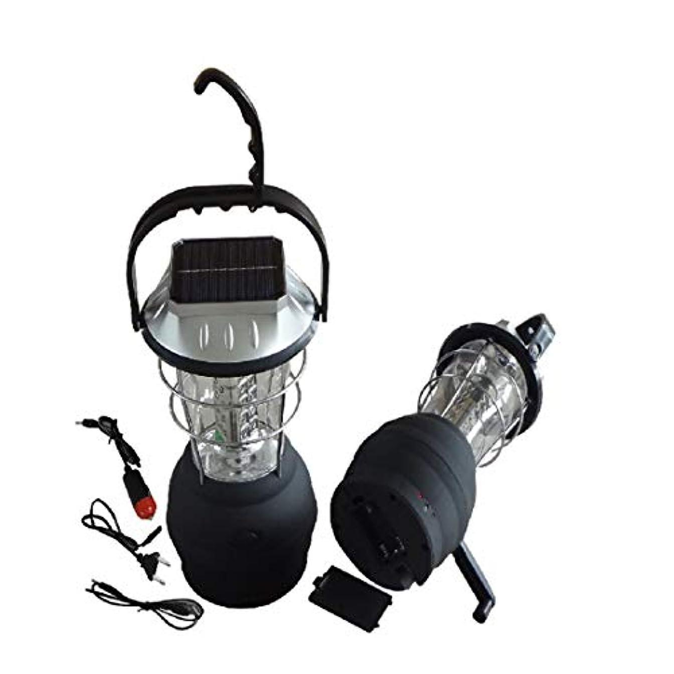 換気第九ドールLilyAngel LEDソーラーキャンプライト屋外ポータブル多機能スーパーブライトハンドクランク緊急ランタン