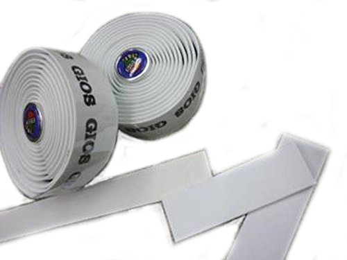 GIOS (ジオス) バーテープ ホワイト ブラックロゴ