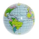 ビーチボール 地球儀 海 風呂 外 子供 大人 夏 遊び バレー 世界地図 遊び