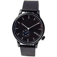 [コモノ]KOMONO メンズ レディース ユニセックス WINSTON REGAL 41mm ブラック レザー KOM-W3000 腕時計 [並行輸入品]