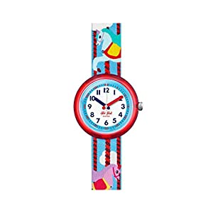 [フリック フラック]FLIK FLAK 腕時計 Power Time 5+ (パワータイム5+) MARY GO AROUND (メリー・ゴー・アラウンド) ガールズ FPNP031 FPNP031 ガールズ 【正規輸入品】