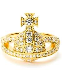 (ヴィヴィアン?ウエストウッド) VivienneWestwood 指輪 MINI ORB RING ミニ オーブ リング SR1481-1 レディース メンズ GOLD 1GDW M [並行輸入品]