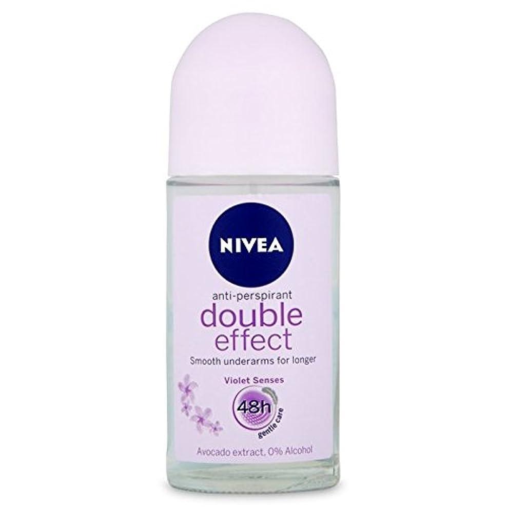 取り消す具体的にブランクNivea Deo Double Effect Gentle Care Roll On Deodorant 50ml - 消臭50ミリリットルのニベアダブル効果優しくケアロール [並行輸入品]