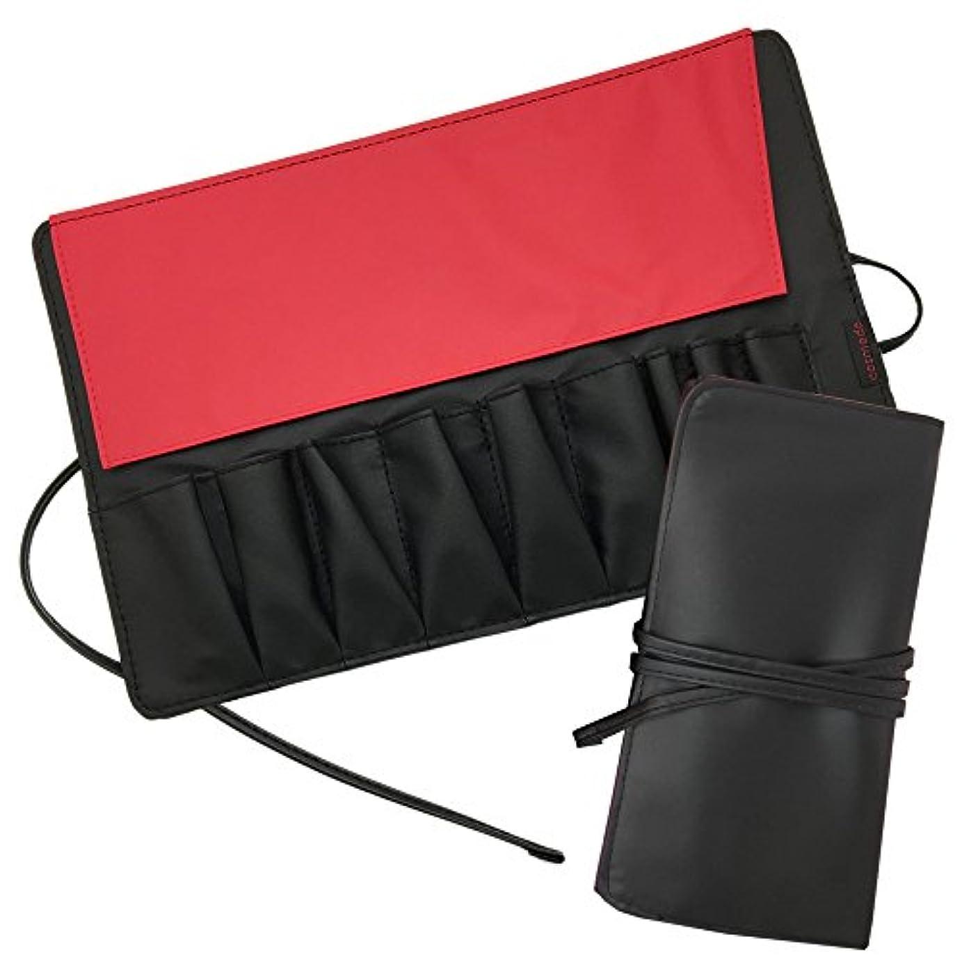 口述するから順応性のある匠の化粧筆 コスメ堂 メイクブラシケース<最大9本収納>(化粧筆 収納 ケース)