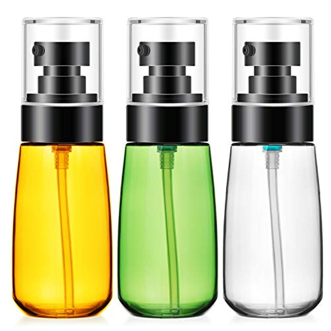 破滅的な発生器偽善者Segbeauty 乳液小分けの詰替え容器 ボルト 60ml 三色 3本セット 分けやすい 持ちやすい 旅行用品 便利さ