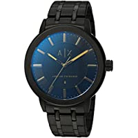 Armani Exchange Black Stainless Steel Watch AX1461