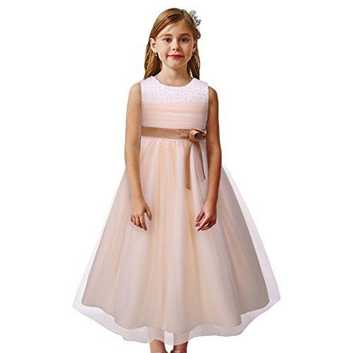 Pettigirl子供ドレス 演奏会 パニエ内蔵 重ね フォーマル ロングドレス 発表会 大きいサイズ 160