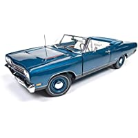 1969 Plymouth GTX Convertible Diecast in 1 : 18スケールby Auto World