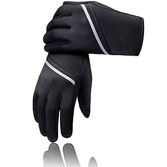 SIMARI グローブ 手袋 自転車グローブ 防寒グローブ 春 秋 冬用 裏起毛 タッチパネル対応 サイクルグローブ サイクリンググローブ 3D 立体 耐磨耗性 換気性 メンズ レディース ジュニア 男女兼用