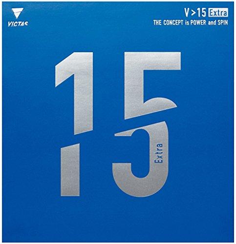 VICTAS(ヴィクタス) 卓球 裏ソフトラバー V15 エキストラ 020461 レッド