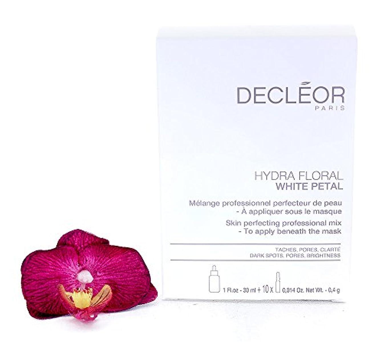 隣人韓国自治デクレオール Hydra Floral White Petal Skin Perfecting Professional Mix (1x Concentrate 30ml, 10x Powder 4g) - Salon...